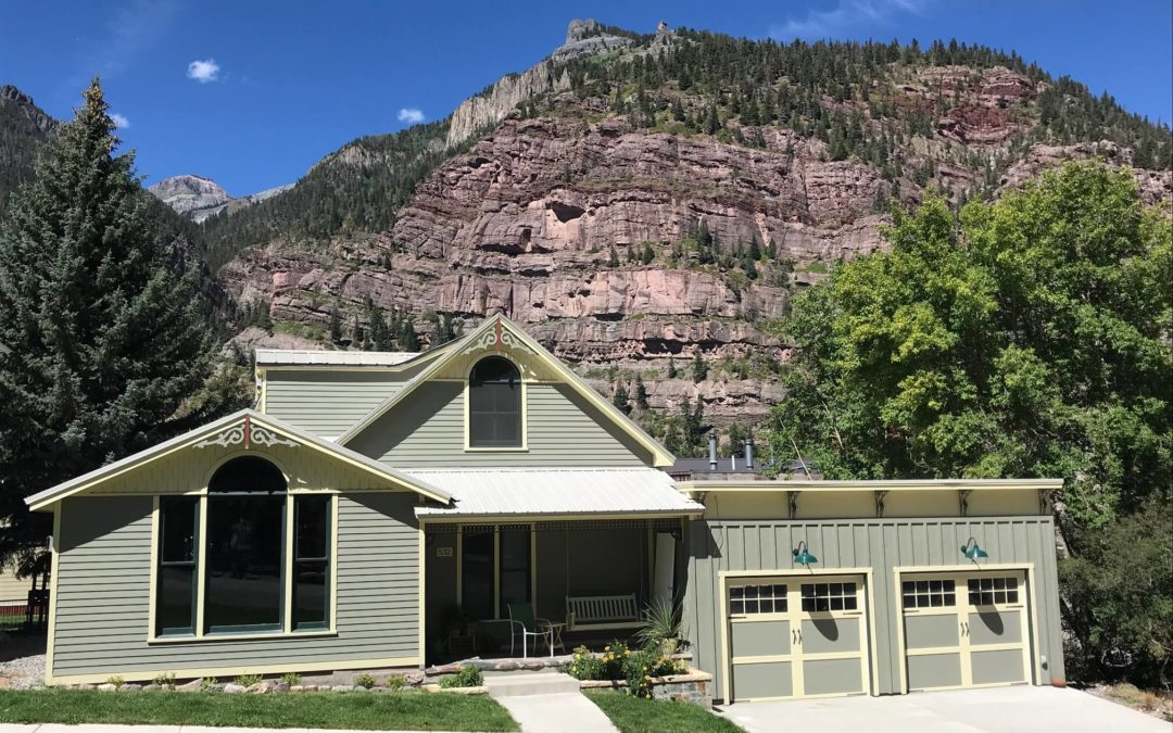 Completely Restored Historic Home in Ouray